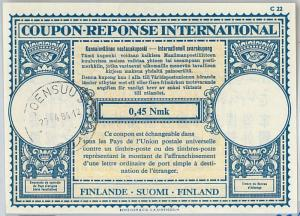 61041 - COUPON RESPONSE INTERNATIONAL London Model: FINLAND 1964