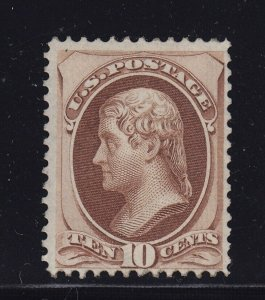 150 F-VF unused ( mint regummed ) with nice color cv $ 850 ! see pic !