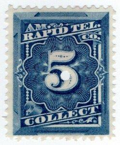 (I.B) USA Telegraphs : American Rapid 5c (Collect)