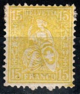 Switzerland #54 Unused CV $6.25  (X9753)