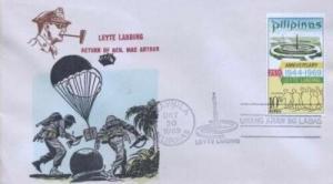 PHILIPPINES - MacARTHUR LEYTE LANDING 1969- Overseas Mailers