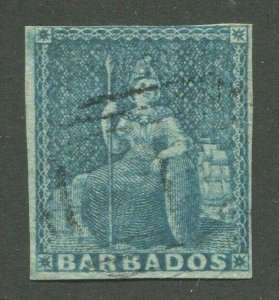 BARBADOS #6a USED