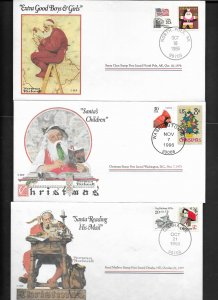 Norman Rockwell Christmas Covers