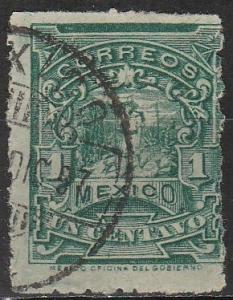 Mexico #242c F-VF Used  CV $20.00 (A17777)
