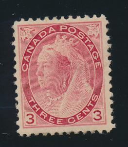 Canada Stamp Scott #78, Mint Hinged, Good Centering - Free U.S. Shipping, Fre...