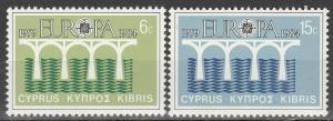 Cyprus #625-6 MNH F-VF  (V1740)