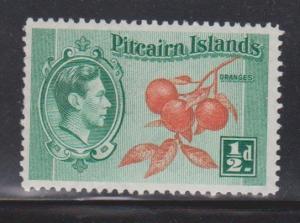 PITCAIRN ISLANDS Scott # 1 MNH - KGVI & Oranges