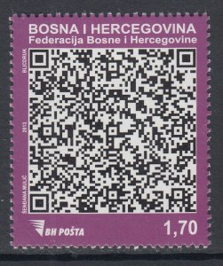 Bosnia and Herzegovina Bosniak Government 708 MNH VF