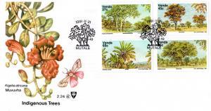 Venda - 1991 Indigenous Trees FDC SG 227-230