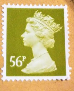 Great Britain 2606 Unused XF on paper