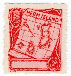 (I.B) Cinderella Collection : Herm Island 2d (Map)