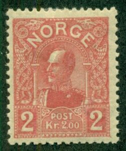 NORWAY #69, Mint Hinged, Scott $150.00