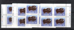 Canada #1174a Very Fine Never Hinged Match Set