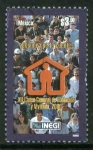 MEXICO 2178, Year 2000 Census of Population and Housing. MINT, NH. F-VF.