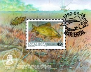 Namibia - 1992 Freshwater Angling Foundation MS Used
