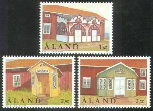 1998   ALAND  -  SG: 141/143 - PORCHES - UNMOUNTED MINT