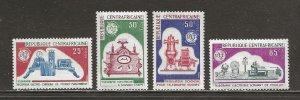 Central African Republic Scott catalogue # 45-48 Unused HR
