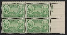 SCOTT # 785 PLATE BLOCK MINT NEVER HINGED VERY NICE FIND !!