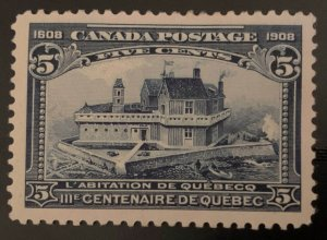 Canada #99 Mint XF H C$150.00 -- Choice Centering