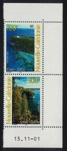 New Caledonia Lifou Island 2v Pair Date SG#1246-1247 MI#1252-1253