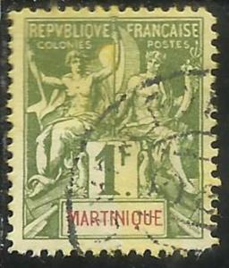 FRENCH MARTINIQUE MARTINICA FRANCESE 1892 1906 PAIX NAVIGATION AND COMMERCE F...