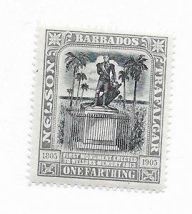 Barbados #102 MH - Stamp - CAT VALUE $15.00