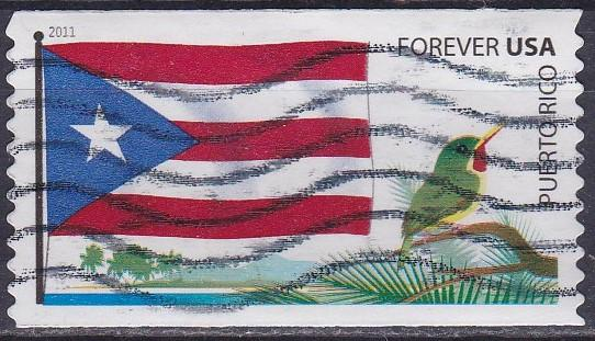 2011 Flag Puerto Rico Used SC4318