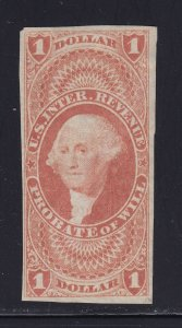 R76a F-VF used neat cancel with nice color cv $ 100 ! see pic !