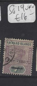 LEEWARD ISLANDS (P1610B)  QV 1D/ 7 D   SG 19    VFU
