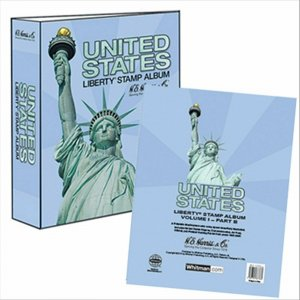 HE Harris USA LIBERTY 1 ALBUM Part B 1995 - 2006 BINDER & PAGES ( Liberty I )