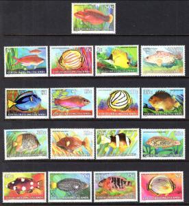 Cocos Keeling Islands 34-50 Fish MNH VF