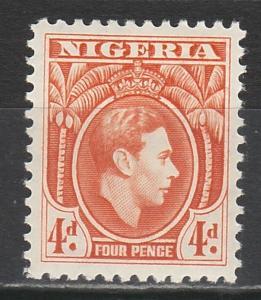 NIGERIA 1938 KGVI 4D