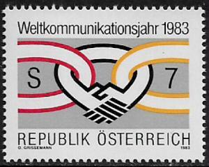 Austria #1233 MNH Stamp - Communications - 40% Cat.