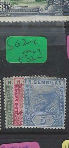 MALAYA NEGRI SEMBILAN (PP2012B)  TIGER  1C-5C   SG 2-4    MOG