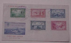 NICARAGUA  USA WILL ROGERS 1939 FDC CACHET UNADDRESSED