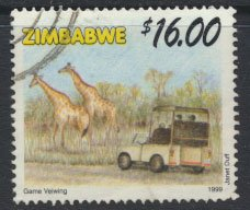 Zimbabwe SG 997  SC#  829 Used Tourism   see detail and scan