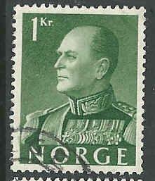 Norway - 370 - Used - SCV-0.25
