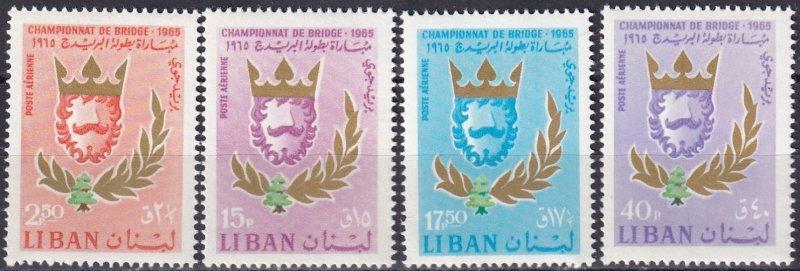 Lebanon #C453-6 MNH CV $4.45  (Z3982)