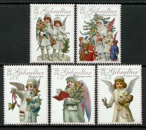 Gibraltar #1029-33 MNH Set - Christmas Angels