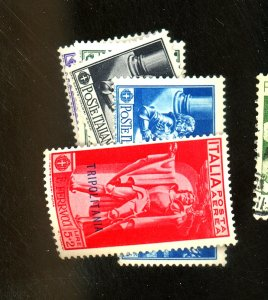 Tripolitania #38-42 MINT F-VF OG NH Cat $ 65.00