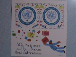 2001 UNITED NATIONS: THE 50TH ANNIVERSARY OF UN S/S