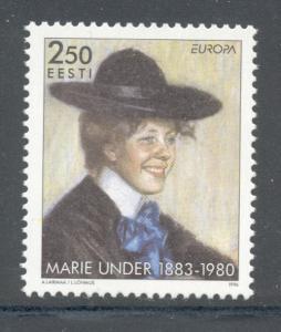 Estonia Sc 306 1996 Europa Marie Under stamp mint NH