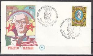 Italy, Scott cat. 1439. P. Mazzi, Political Writer issue. First day cover. ^