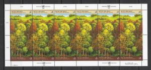 United Nations Vienna #81a (v) Survival of Forest MNH