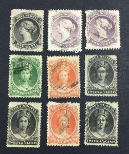 MOMEN: CANADA NOVA SCOTIA SG # 1860 USED £ LOT #7144