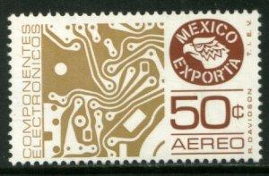 MEXICO Exporta C594, 50¢ Circuit board. Wmkd Fosfo Paper 2. MINT, NH. VF.