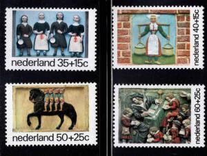 Netherlands Scott B513-516 MNH** Child Welfare semi-postal set