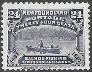 Newfoundland Scott Number 71 FVF H