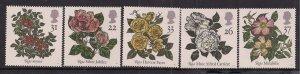 GB 1991 QE2 Roses Umm set ( R354 )