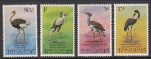 Tanzania 193-6 Birds mnh